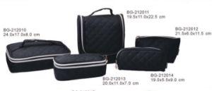 Professional Black Cosmetic Bag Makeup Bag