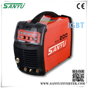 Sanyu Professional Three Phases Compact Inverter MIG/Mag Welding Machine (MIG-250IGBT) pictures & photos