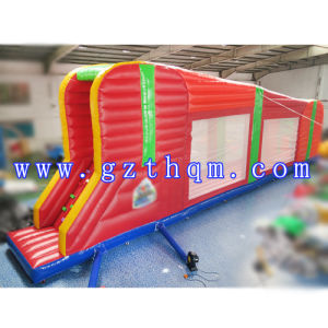 Long Giant Inflatable Zip Line for Adults/Inflatable Ropeway for Adults and Children pictures & photos