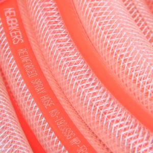PVC Braided Reinforced Fiber Nylon Hose Ks-813nlg pictures & photos