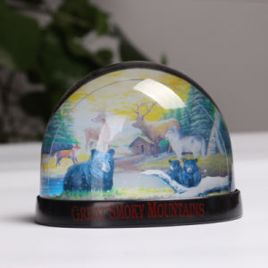 Best Quality Cheap Acrylic Wholesale Custom Photo Snow Globe pictures & photos