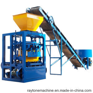 Qt4-26 Manual Cement Concrete Hollow Block Brick Making Machine pictures & photos