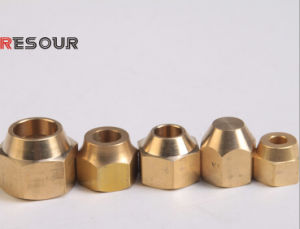 Brass Nut, Brass Fitting (Brass Connector, Cap Nut, Plug, Distribution) pictures & photos