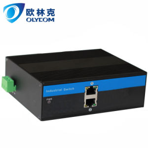 2UTP fast Ethernet industrial network switch with IP30