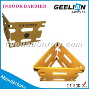 Indoor Barrier Plastic House Fence/Handails, Red/Yellow Crowd Control Road Barrier pictures & photos