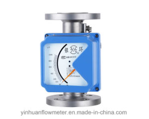 Lzzh Mechanical Pointer Indicating Flange Type Metal Tube Float Variable Area Flowmeter pictures & photos