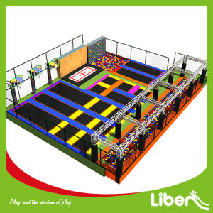 Large Kids Indoor Jumping Amusement Trampoline Park Builder pictures & photos