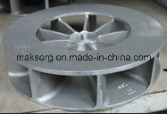 Steel Sand Cast Moulding Machinery Impellor Blade Sand Blast pictures & photos