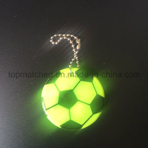 PVC Football Reflective Safety Pendant Hanger pictures & photos