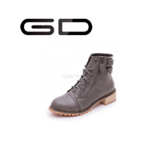 2016 Best Sale Ladies Grey Buckle Ankle Boots