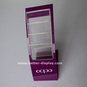 Custom Acrylic Plastic Business Card Holder (BTR-H6035) pictures & photos