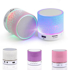 Portable Mini LED Light Wireless Bluetooth Speaker Handsfree pictures & photos