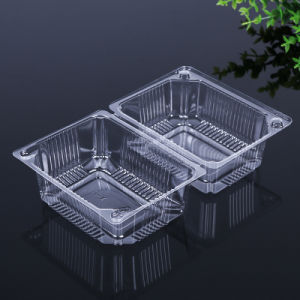 OEM disposable restaurant food clamshell container(pet container) pictures & photos