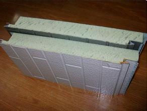Heat Insulation Exterior Decorative PU Foam Sandwich Wall Panel pictures & photos