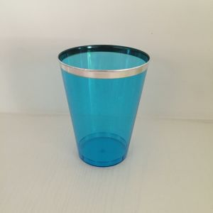 Glass, Mug, Tableware, PS, Transparent, Disposable, Colorful, Injection, GB-02, Plastic Cup, Silver pictures & photos
