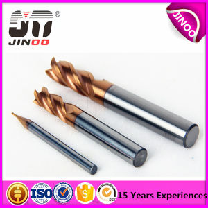 HRC45 D4mm Tungsten End Mills Manufacturers Cutting Tools pictures & photos