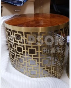 Customized Stainless Steel Furniture Table Cabinet Fabrication with Color Coating pictures & photos