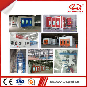 Professional Guangli Ce and ISO Approved Durable Water Based Paint Car Spray Painting Booth (GL3-CE) pictures & photos