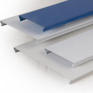 ISO Suspended System Aluminum C-Shaped Linear Ceiling pictures & photos