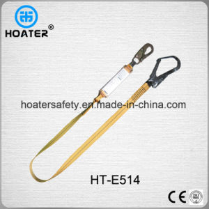 2017 Hot High Strength Safety Harness Polyester Lanyard with Hooks