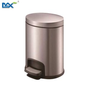 20 Liter Plastic Stainless Steel Kitchen Recycling Foot Pedal Dustbins pictures & photos