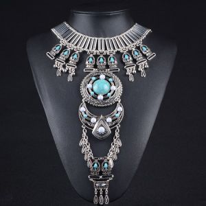 Fashion Designer Collar Necklace Turquoise Cross Body Chain Jewelry pictures & photos