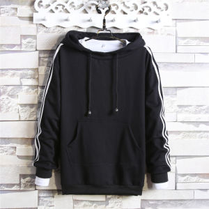 Leisure Apparel OEM 100% Polyester Blank Men Hoodies pictures & photos