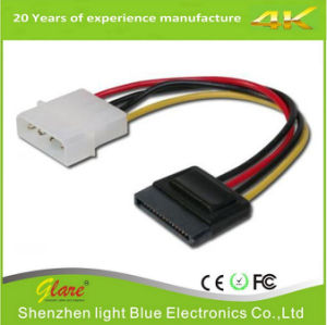 Shenzhen Factory Supply 15cm SATA Power Cable pictures & photos