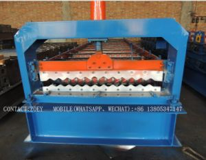 Roll Forming Machine/Glazed Tile Roll Forming Machine/High Rib Roofing Panel Roll Forming Machine pictures & photos