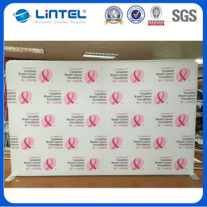 Portable Aluminum Round Tube Fabric Backdrop Display 24q1 pictures & photos