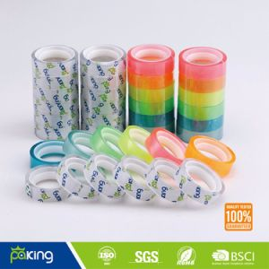 Gift Packing Rainbow Color BOPP School Stationery Tape pictures & photos