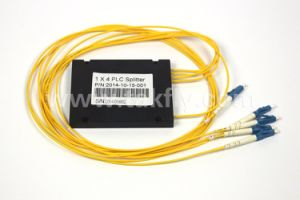 Fiber Optical 1X4 ABS Box PLC Splitter pictures & photos