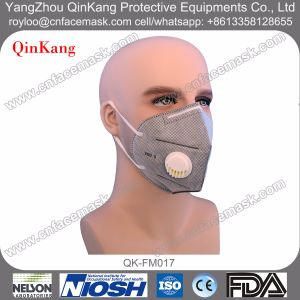 N95 Dust Proof Foldable Valve Face Mask pictures & photos