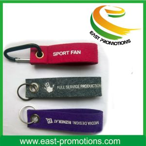 Embroidery Logo Felt Key Chain pictures & photos