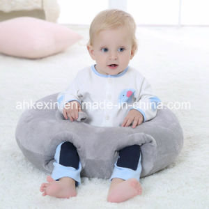 Soft Round Plush Fabric PP Cotton Baby Pillow pictures & photos