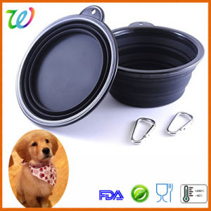 Hot Sale Travel Silicone Dog Food Bowl