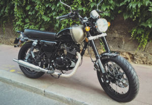 Euro4 50cc/125cc Road Legal/Street Use Retro Motorcycle/Vintage Motorcycle/Cafe Racer Style Motorcycle/Classic Motorcycle ECE/EEC/Coc pictures & photos