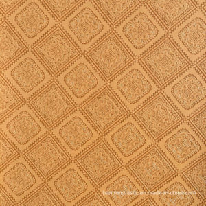 Square Flower PVC Leather for Handbag, Upholstery Sofa Furniture pictures & photos