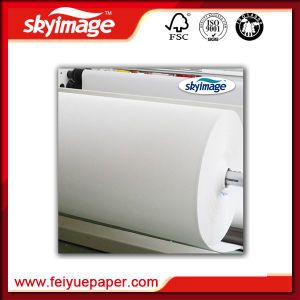 1118mm (44inch) Anti-Curl 57GSM Jumbo Roll Fast Dry Sublimation Transfer Paper Manufacture pictures & photos