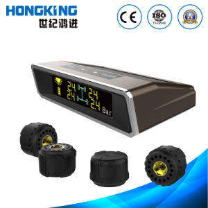 Solar Energy TPMS with External Sensor for Car, Van pictures & photos