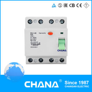 New Type Excellent Quality 4p Residual Current Circuit Breaker RCCB pictures & photos