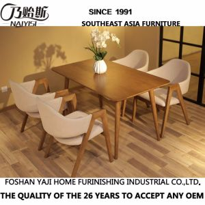 Oak Dining Room Dinner Wooden Solid Wood Desk Table D12 pictures & photos