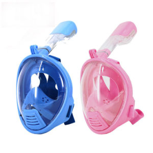 Free Breathing Diving Snorkel Full Face Mask 180 Degree Seaview with Anti-Fog and Anti-Leak Gear pictures & photos