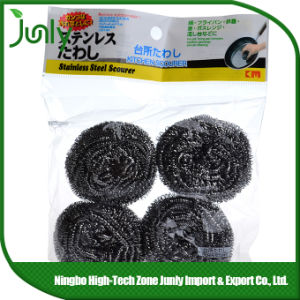 Pot Scourer Stainless Steel Cleaning Ball spiral Scourer pictures & photos