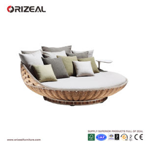 Outdoor Rattan Round Daybed Oz-Or057 pictures & photos