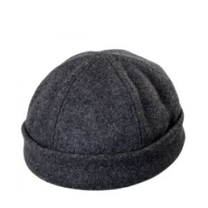 Wool 6 Panel Skull Cap pictures & photos