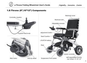 Ce Approved Power Wheelchair for Handicapped/Disabled, Lightweight, Portable pictures & photos