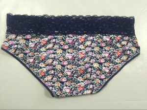 Fashion Aop Lady Panty Woman Underwear with Lacy pictures & photos