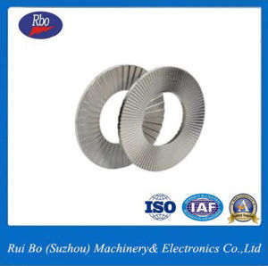 China Factory Stainless Steel Shim DIN25201 Disc Lock Washer Flat Washer Spring Washer pictures & photos