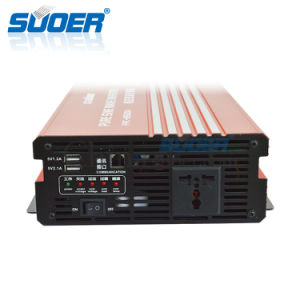 Suoer 1500W DC 12V to AC 230V off Grid Pure Sine Wave Solar Power Inverter (FPC-H1500A) pictures & photos